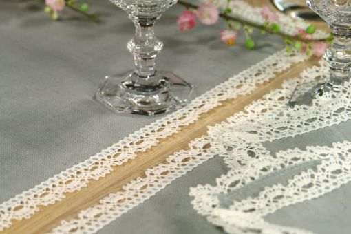 Set de table Thea Lace, gris (pearl), 37*50cm